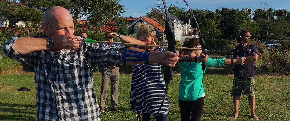 Outdoor Guernsey Archery